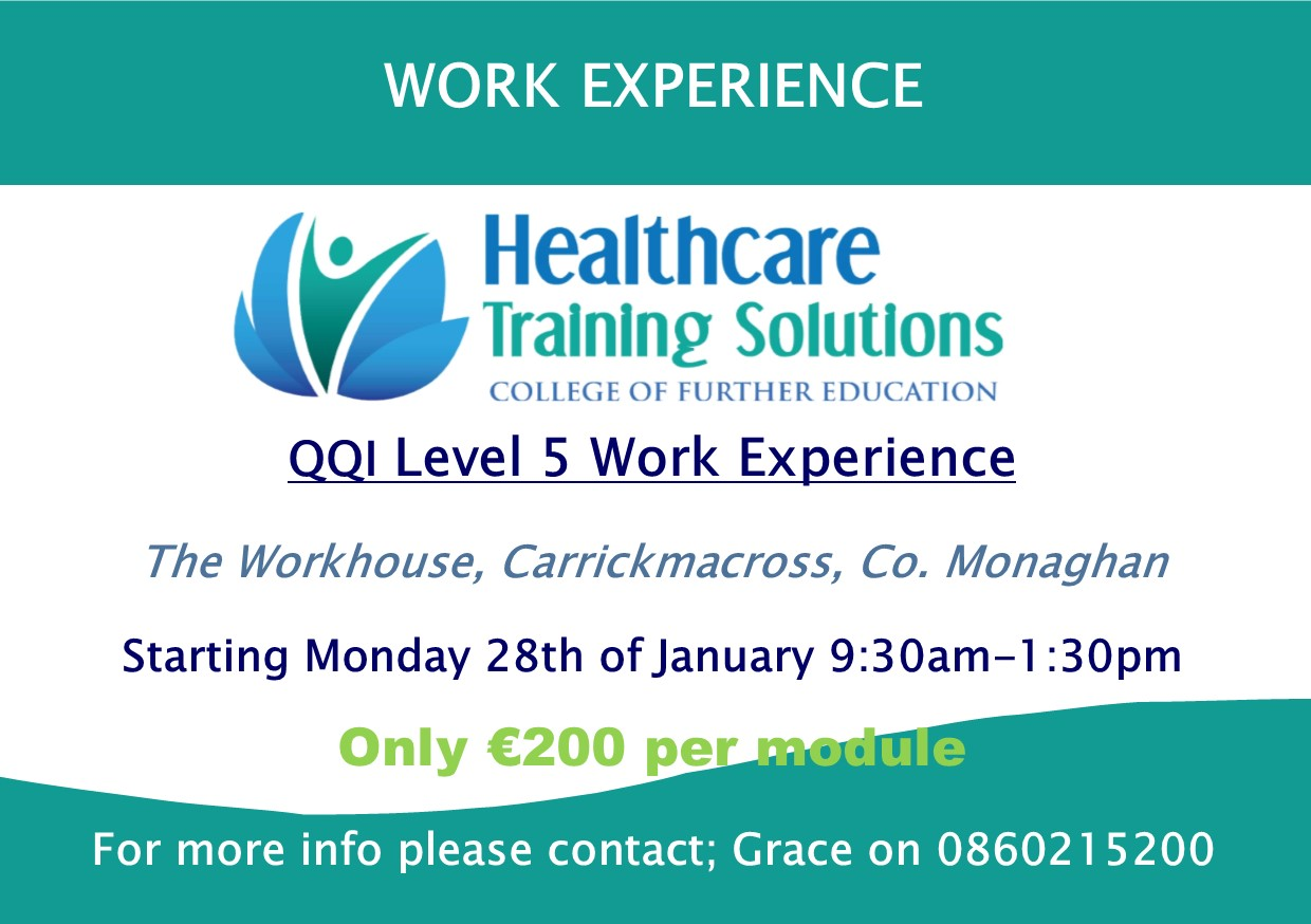 New Work Experience Course, Monaghan